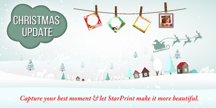 StarPrint Photo Decoration Feature - Christmas Update