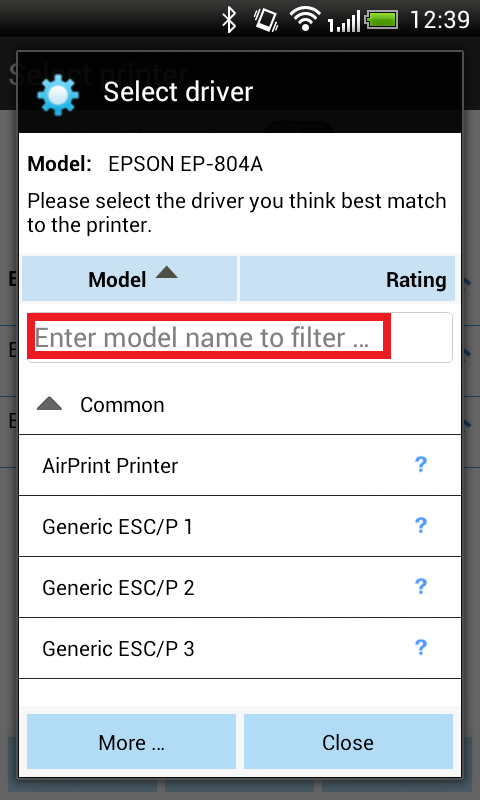 How to write a printer driver for android