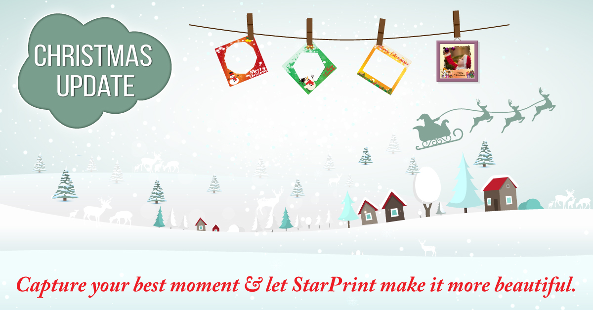 StarPrint December Update - Photo Decoration