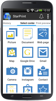 starprint-printer app for android